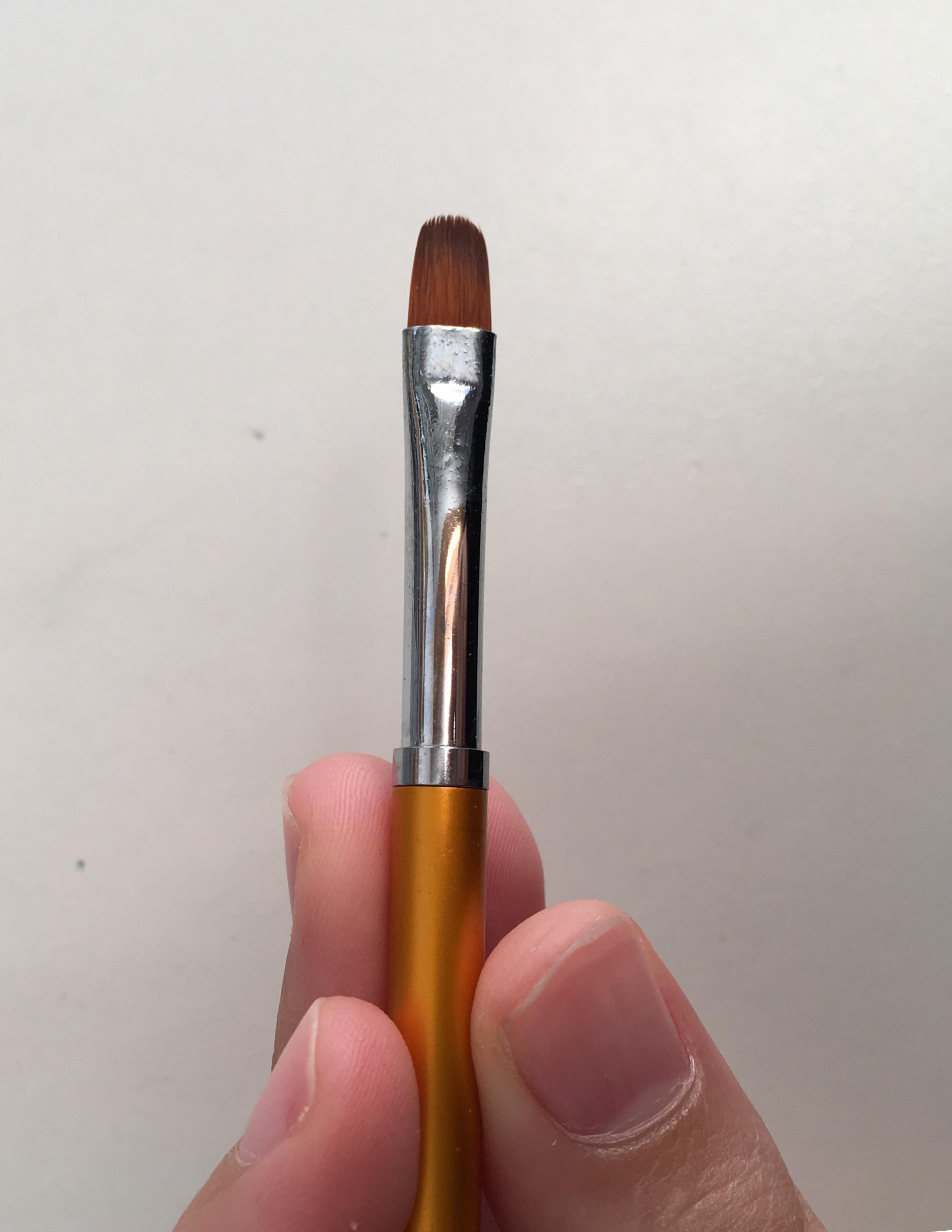 3 Size Nail Art Gold Round Top Painting Brush Set Gel Polish Tips Extending Coating 3D Petal Flower DIY Drawing Shaping Pens Kit reviews №5 161375
