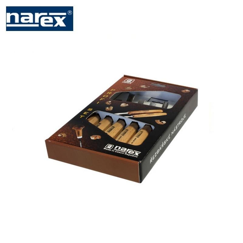 Фото - 894720 Set of 6 Standart cutters in a cardboard box, Narex wood carving  Feret rezchitskih professional woodworking semicircula 3d wood carving machine price cnc