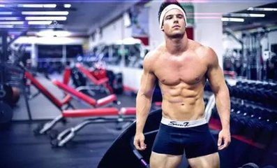 男子腹部塑形动作 9个动作练出你的肌肉-养生法典