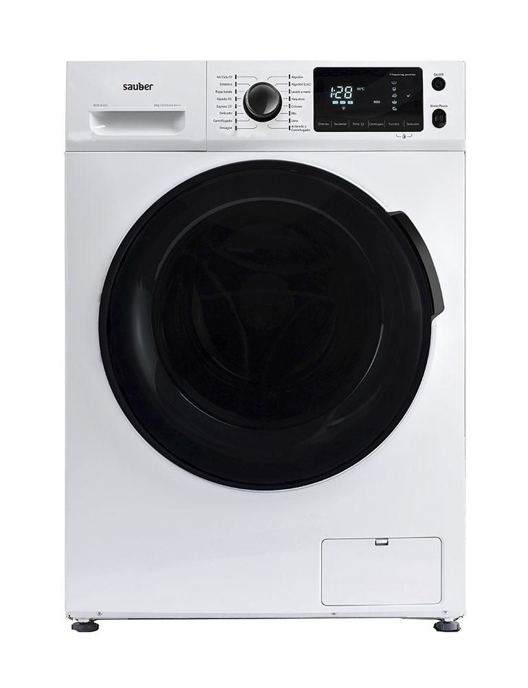 Washing Machine Front Load Sauber Wm8141 8 Kg 1400 Rpm A + + + White