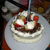 巧克力戚风~生日蛋糕的做法图解16