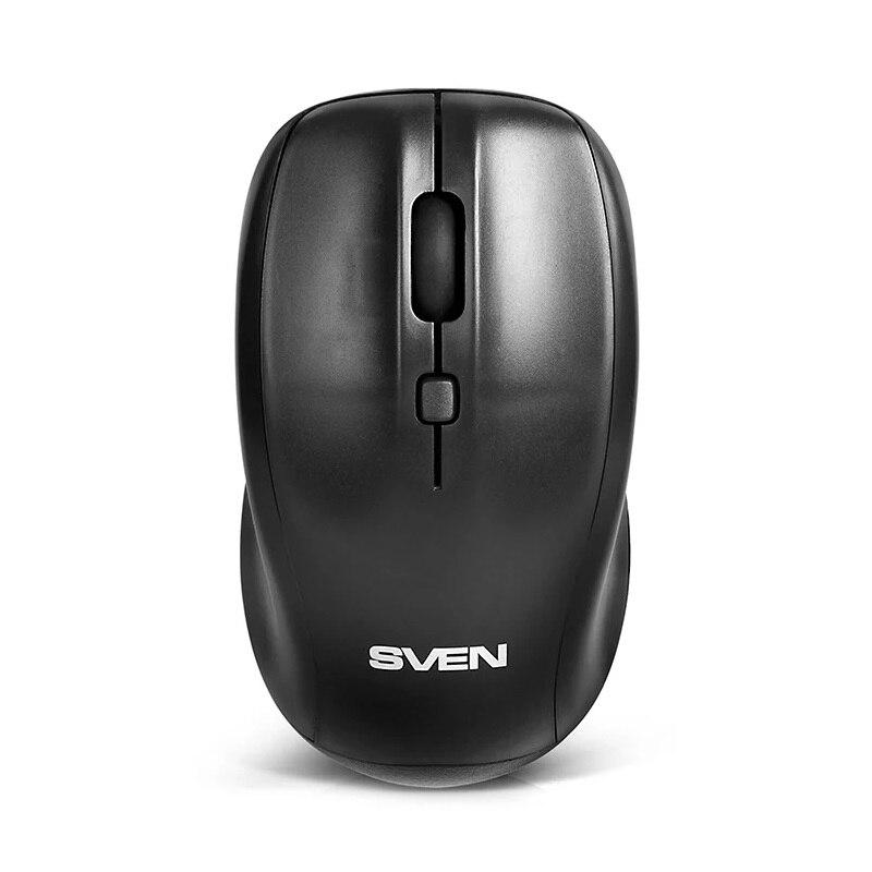 Мышь беспроводная Sven RX 305 (Wireless, BlueLED, 3+1(колесо прокрутки), 800/1200/1600 dpi, симметричная) (SV 03200305W)