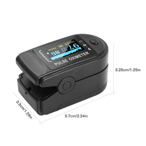 Image 5 - Pulse Oximeter Upper Arm Tonometer Blood Pressure Monitor Digital LCD Screen Automatic Heart Beat Meter Machine Measuring Tool