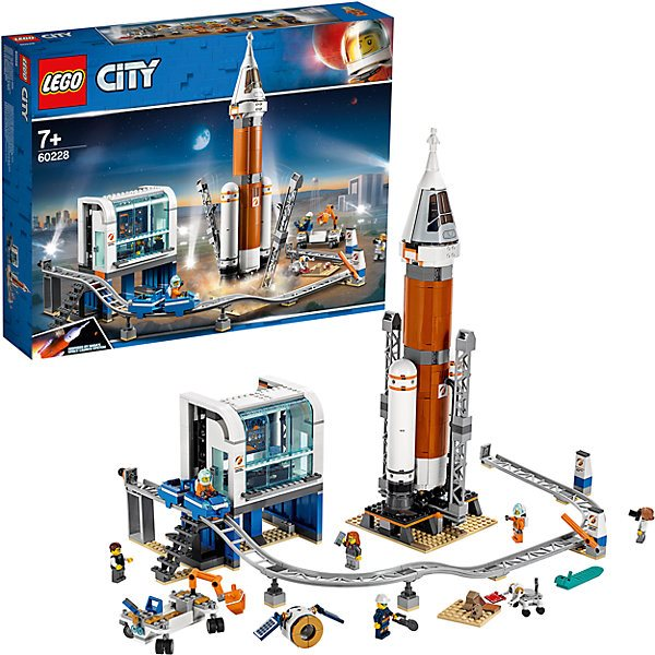 Lego City Space Port 60228: Rocket launch in deep space and remote start