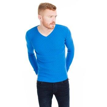 Buratti V Collar Slim Fit Sweater MALE SWEATER 55617 K6514 1