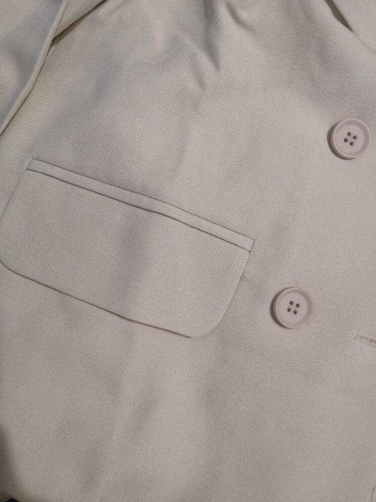 Autumn Winter  Women Lace Up Pant Suit Notched Blazer Jacket & Pant Office Wear Suits Female Sets reviews №2 115317