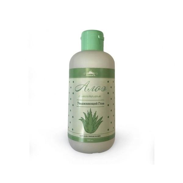 Spivak aloe gel with menthol