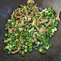蒜苔炒肉的做法图解7