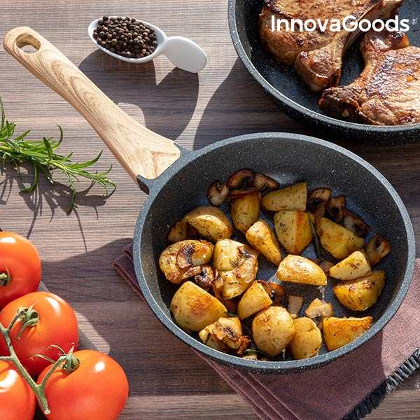 InnovaGoods Granite-Effect Premium Pan (20 Cm)