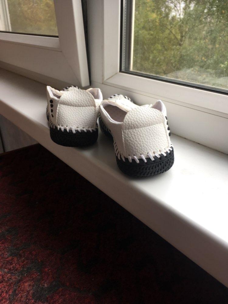 Sapatos de couro B06061 Crianças Estilo