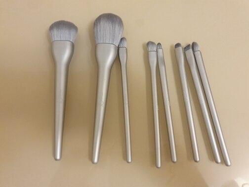 8PCS Makeup Brushes Sets Powder Foundation Blusher Eyeshadow Brush Candy Cosmetic Colorful Make Up NO MSQ LOGO With Bag reviews №1 223997