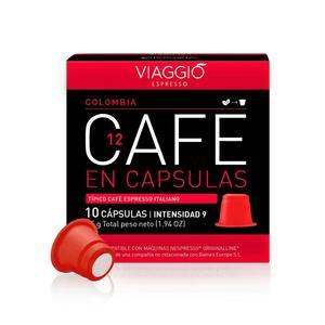 VIAGGIO ESPRESSO - 120 coffee capsules compatible with Nespresso machines (COLOMBIA)