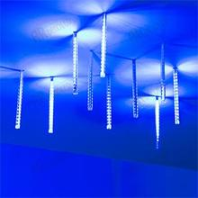 026041 led string light ard-icefall-classic-d12-200-10pcs-clear-32led-live Blue (230V, 10.5W) Arlight