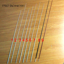 Pro Bomesh 5 PCS/Lot 45.2 cm-51 cm 1 Section solide Fiber de verre glace tige blanc radeau tige pointe réparation pointe bricolage tige bâtiment réparation(China)