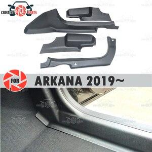 Отделка ковра на порог двери для Renault Arkana 2019 ~ защитная накладка на Внутренний порог, аксессуары для ковра, украшение для стайлинга автомобил...