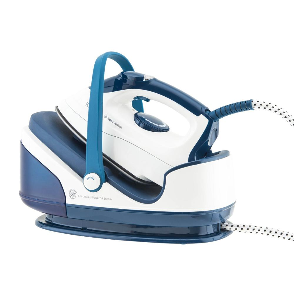 Ironing Center 2400 W, 90g-min, 3.5 Bars, Stainless Steel Soleplate, Removable Water Tank 1.7L, Autonomy Ilimita