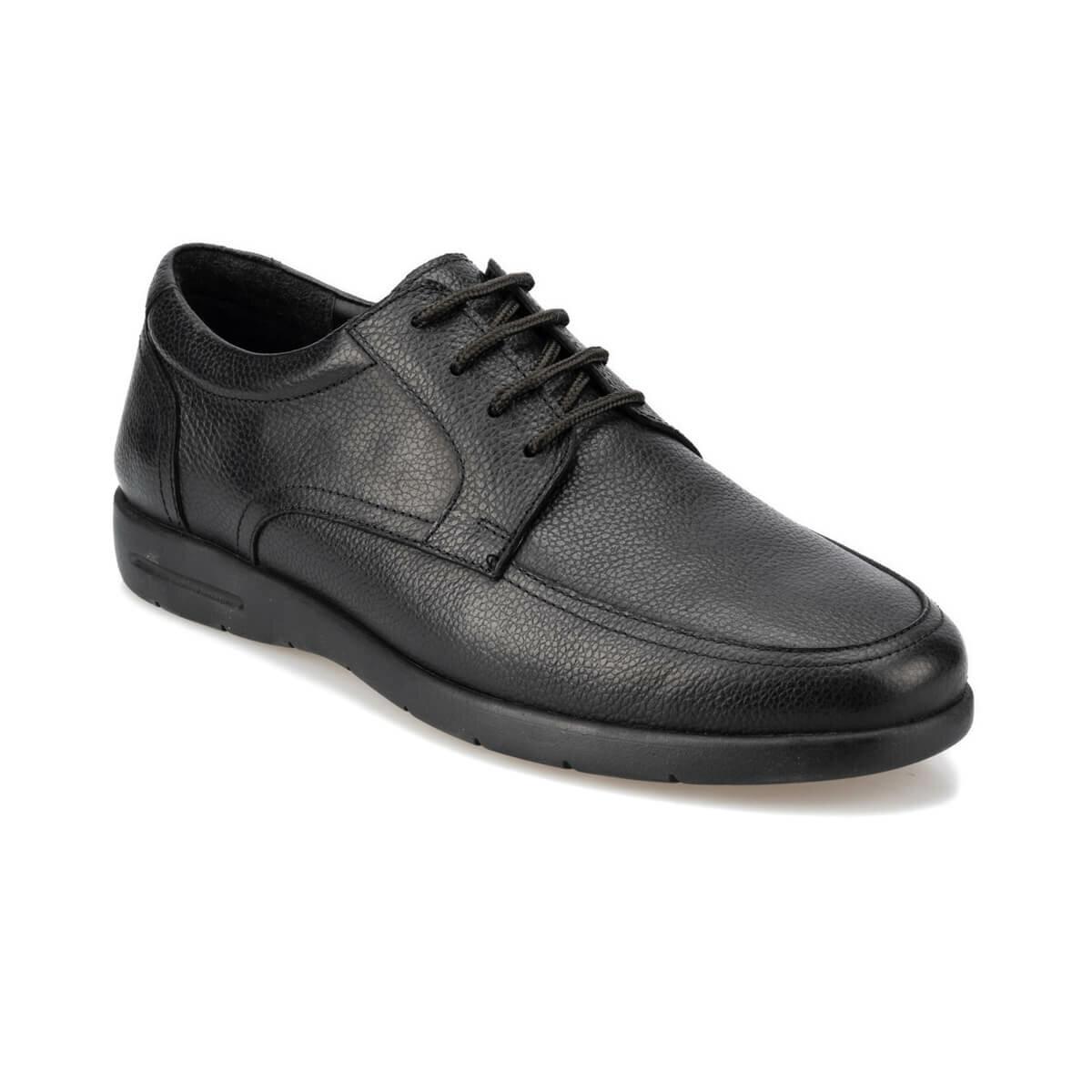 FLO 92. 100906.M Black Male Shoes Polaris 5 Point