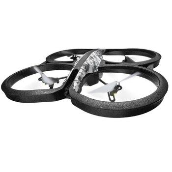 Parrot AR.Drone 2.0 Elite Edition Snow - Dron cuadricóptero (12 minutos de vuelo, cámara HD, 50 metros de alcance