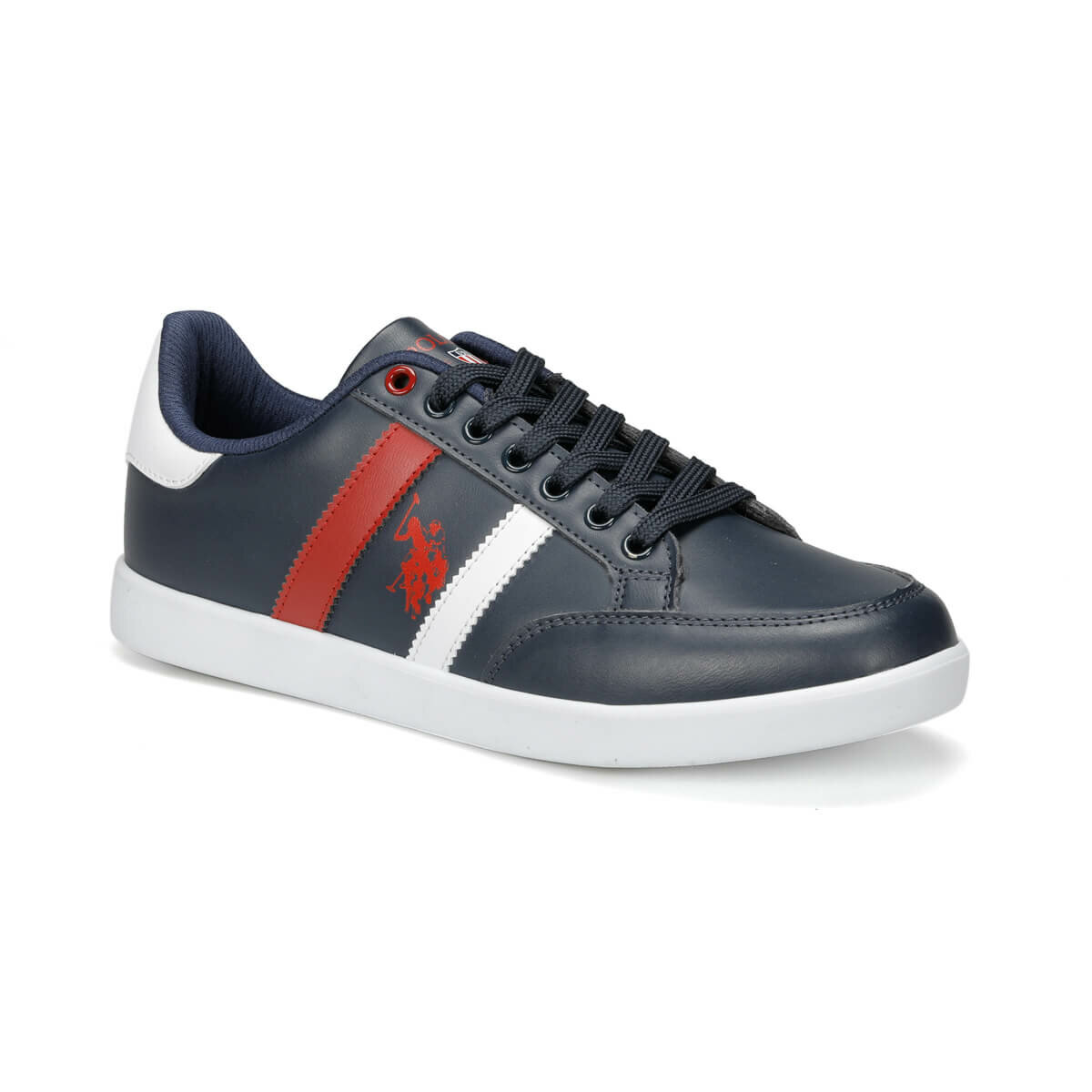 FLO SANTO WT 9PR Navy Blue Men 'S Sneaker Shoes U.S. POLO ASSN.