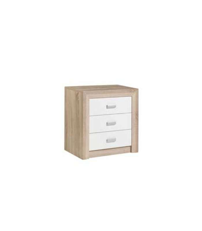 Bedside Table 3 drawers Given|  - title=