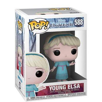Elsa Frozen 2 Young, FUNKO POP, original, Disney figures, collectibles, girl toys, dolls, action figure 1