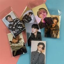 5pcs Bangtan Boys Weverse Magazine LOMO Cards JIMIN JIN SUGA J-HOPE Postcard Fans Collection