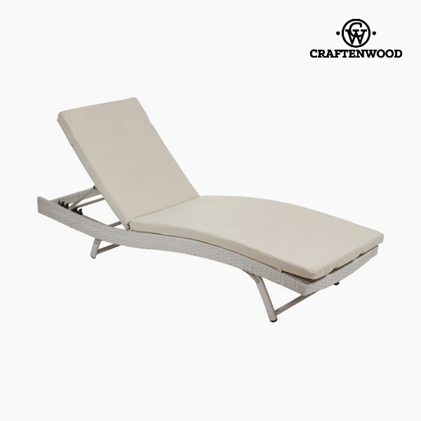 Sun-lounger (194 X 28 X 65 Cm) Rattan Polyester