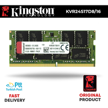 KINGSTON 2400MHz 16GB pamięci RAM DDR4 KVR24S17D8/16