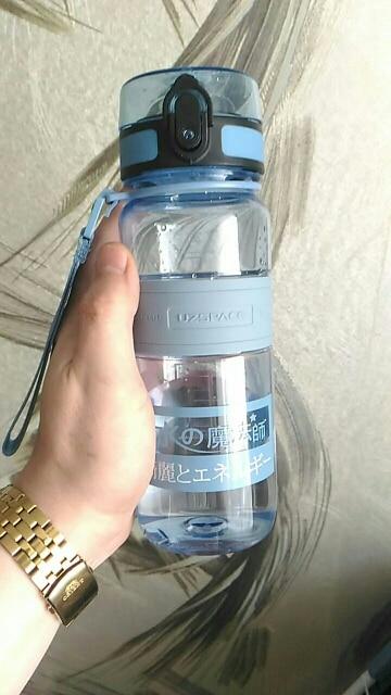 UZSPACE Sports Water Bottles Portable LeakProof Shaker Bottle Fruit Juice Tea Infuser Tritan Plastic Drinkware 500ml/1L BPA Free-in Water Bottles from Home & Garden on AliExpress