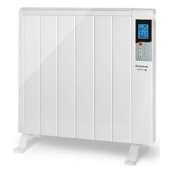 Digital Dry Thermal Electric Radiator (6 Chamber) Taurus Tanger 1200W White
