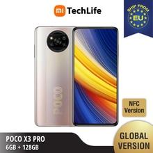 Versão global poco x3 pro 6gb ram 128gb rom-novo   selado   qualcomm®Snapdragon™860g   smartphone   móvel
