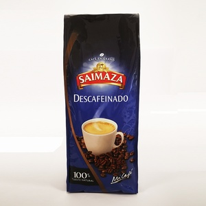 Decaffeinated Saimaza coffee beans 500 gr.