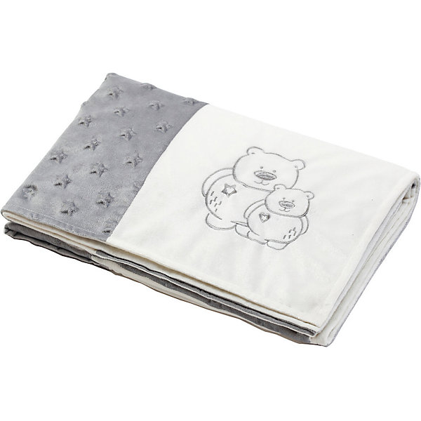 Children's Plaid BabyOno Patchwork Bear