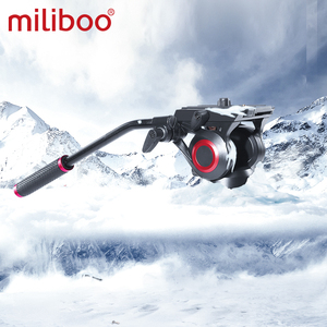 "Image 3 - miliboo MTT705 Aluminum Portable Fluid Head Camera Monopod for Camcorder /DSLR Stand Professional Video Tripod 72""Max Height"