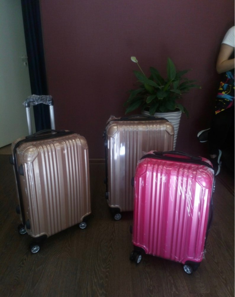 Suitcase Carry Ons Women Travel Spinner Rolling Luggage On Wheels 20/22/24 Inch Cabin Trolley Box Fashion Men'S Luggage