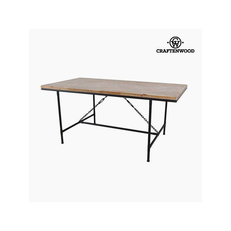 Dining table fir Wood (108x90x80 cm) by Craftenwood| |   - title=