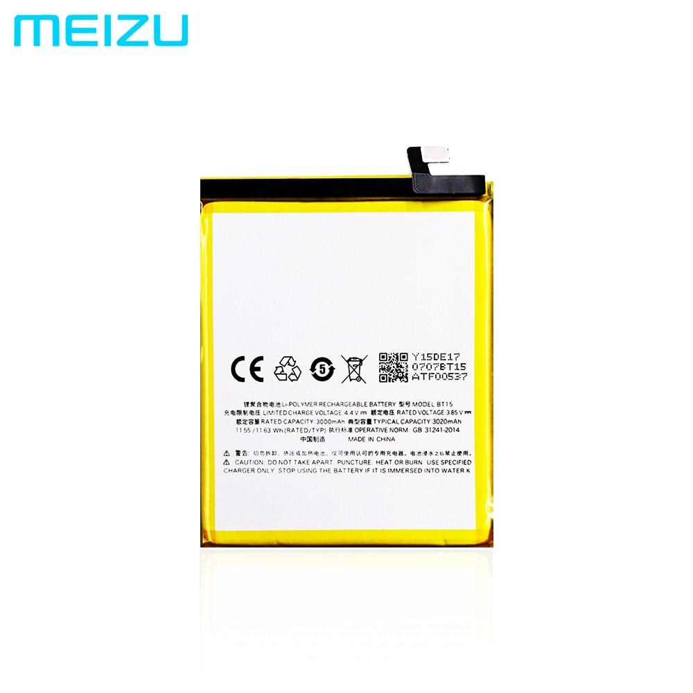 Оригинальный аккумулятор для смартфона Meizu M3s (3,8 в, 3000 мАч, BT15)