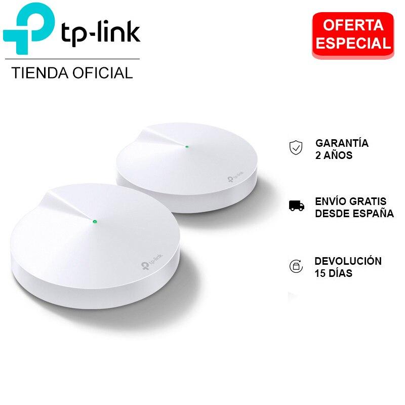 TP LINK Deco M5, Pack 2 Puntos de Acceso, Velocidad Estable Hasta 1267Mbps, Compatible con Alexa, WiFi Mesh, Hasta 200 m2, NUEVO|Rúteres inalámbricos| - AliExpress