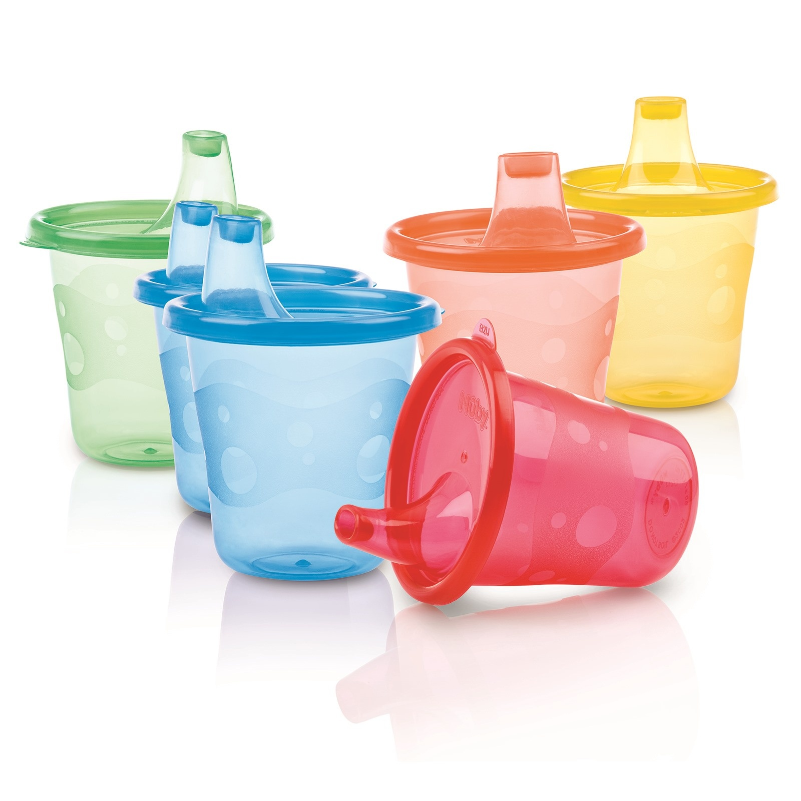 Ebebek Nuby Colored Baby Cups Set 210 Ml