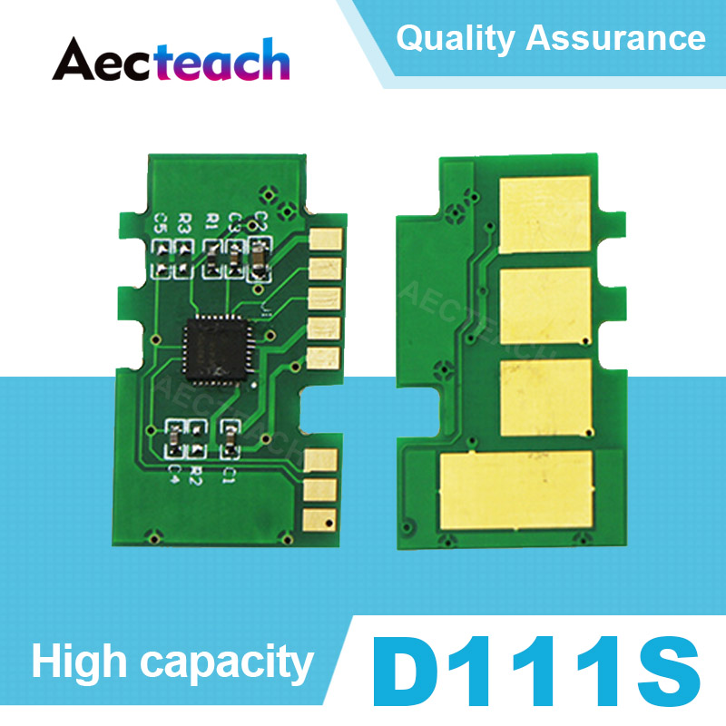 Aecteach D111s Toner Chip mlt 111s 111 D111 for <font><b>Samsung</b></font> Xpress SL-M2020W M2022 SL <font><b>M2020</b></font> SL-<font><b>M2020</b></font> M2070w Cartridge Reset chips image