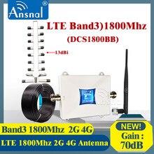 Big Verkauf!!1800Mhz 4G Signal Booster LTE GSM 1800Mhz 4G Netzwerk Mobile Booster DCS 1800Mhz GSM Repeater 2g 4g Cellular Verstärker