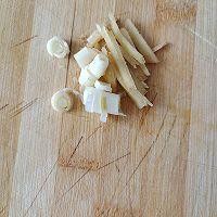 蒜苔炒肉的做法图解3