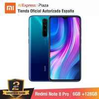 Redmi Nota 8 Pro (128 Gb di Rom con 6 Gb di Ram, Cámara De 64 Mp, Android, nuevo, Móvil) [Teléfono Móvil Versión Globale Para España]