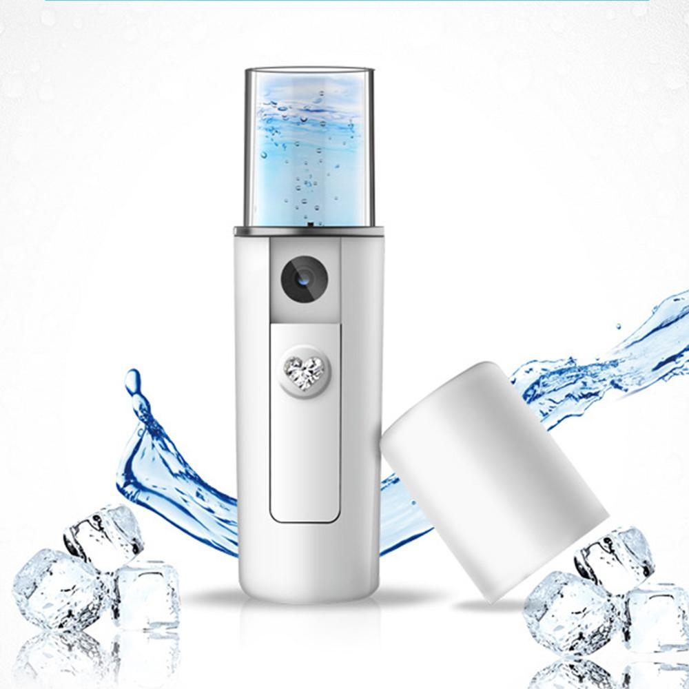 Facial Moisturizing Beauty Instrument USB Charging Portable Nano Mist Spray Handy Atomization Mister Device Face Steamer Tool(China)
