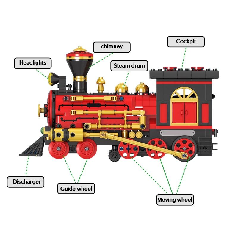 Winner Electric Classical Train Building Blocks