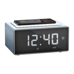 Clock-Radio with Wireless Charger Energy Sistem 448418 LED WiFi 10W Blue
