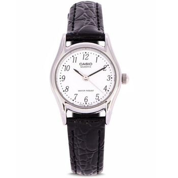 Casio Ladies Original Watches Waterproof Antique Watch Women Gifts Clock Stainless Steel Leather Band LTP-1094E-7BRDF