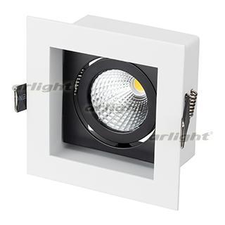 024126 Lamp CL-KARDAN-S102x102-9W Warm (WH-BK 38 Deg) ARLIGHT 1-pc