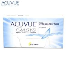 Контактные линзы Acuvue Oasys with Hydraclear Plus(12 шт) R: 8.4