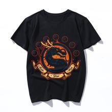 Модная хлопковая футболка ke your wish с принтом Коула для мужчин